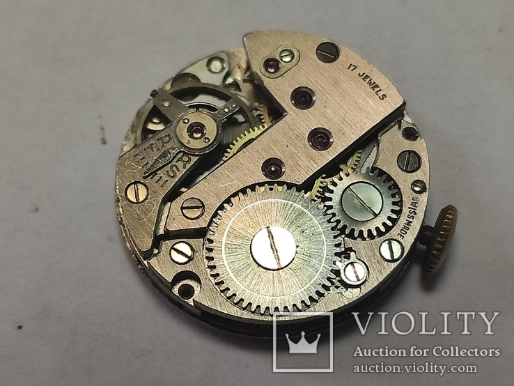 "Часы ""Astin"" золото 750. Швейцария. На ходу., фото №12"