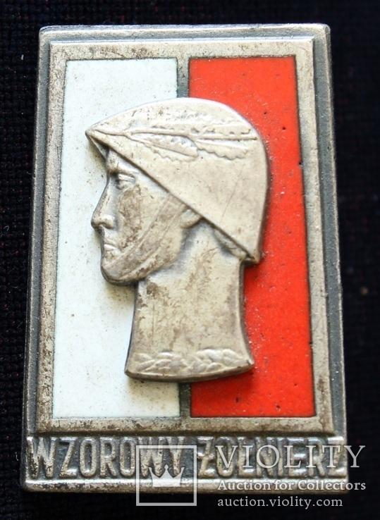 Польша. Отличный солдат. Серебряная степень. (3), фото №2