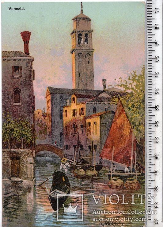 Открытка. Венеция. №55 (3), фото №2