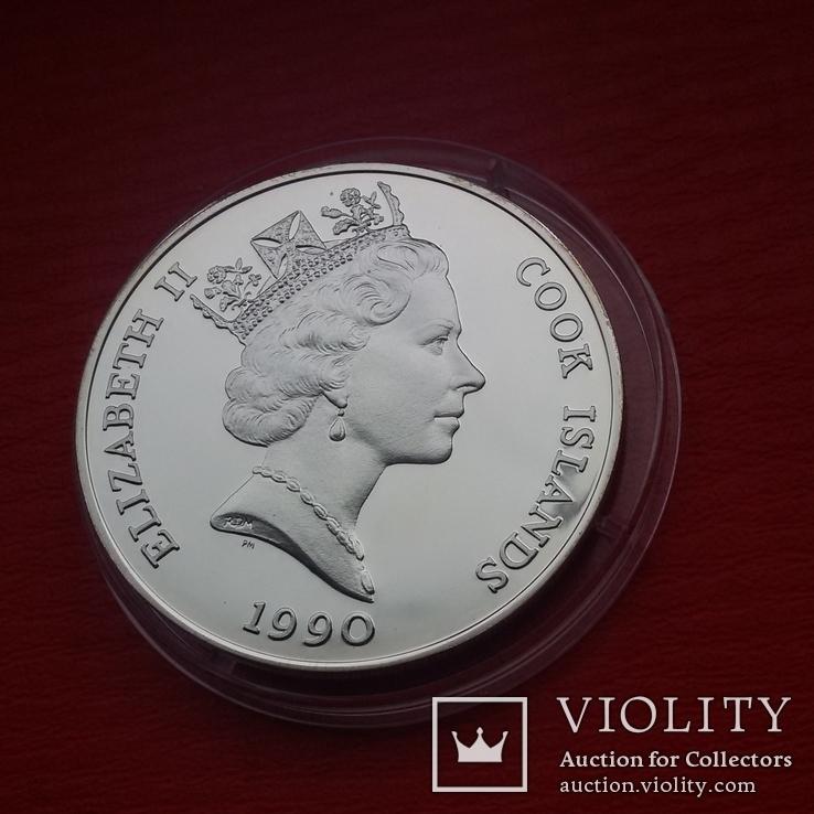 50 $  1990 г. острова Кука., фото №9