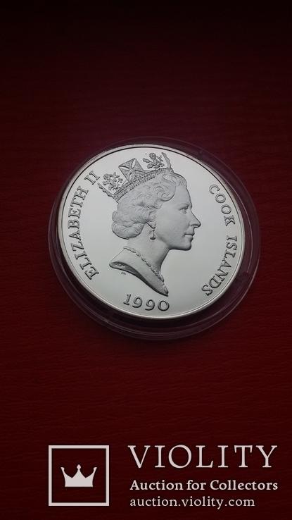 50 $  1990 г. острова Кука., фото №11