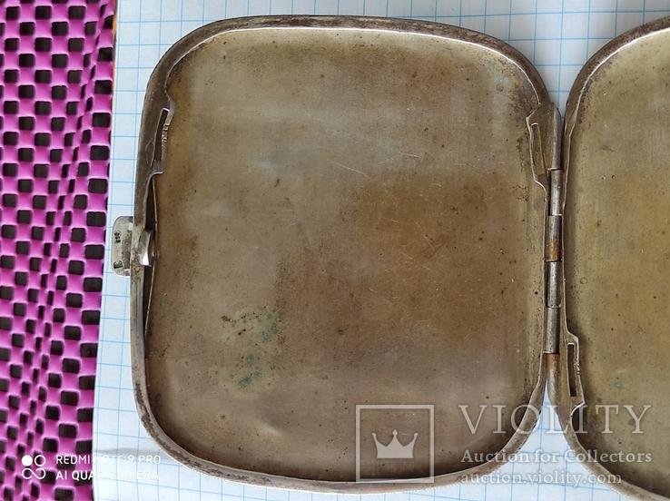 Портсигар серебро 800пр. 77грам., фото №3
