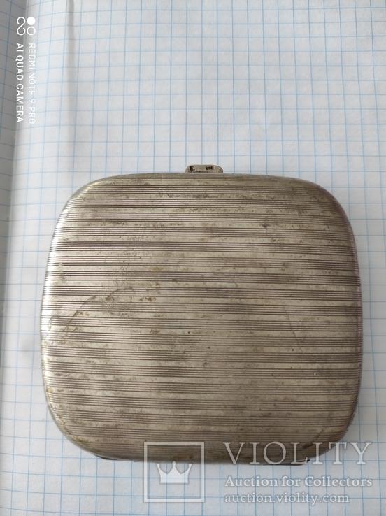 Портсигар серебро 800пр. 77грам., фото №5