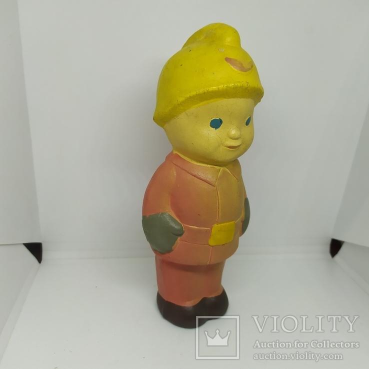 Пожарник. Пищалка. СССР. 155мм, фото №2