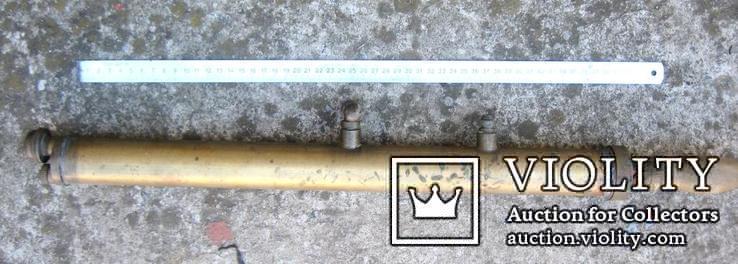 Старовинний бронзовий насос-оббризкувач (номерний), фото №3
