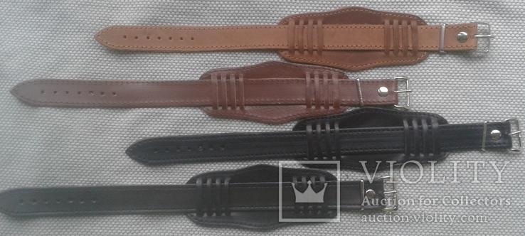 Ремешок с напульсником в стиле Ретро , 18 мм., комбинированный , 4 штуки в лоте, фото №3