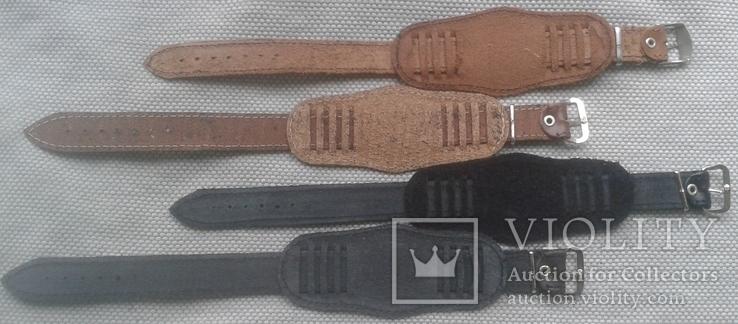 Ремешок с напульсником в стиле Ретро , 18 мм., комбинированный , 4 штуки в лоте, фото №6