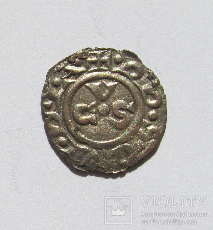 Денаро 13 век Республика Анкона Италия