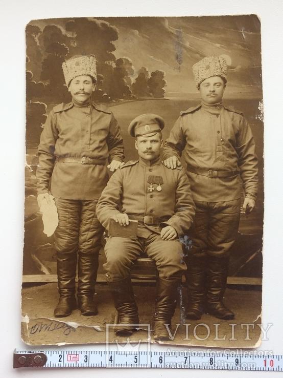 С Георгиевским крестом и медалью, фото №6