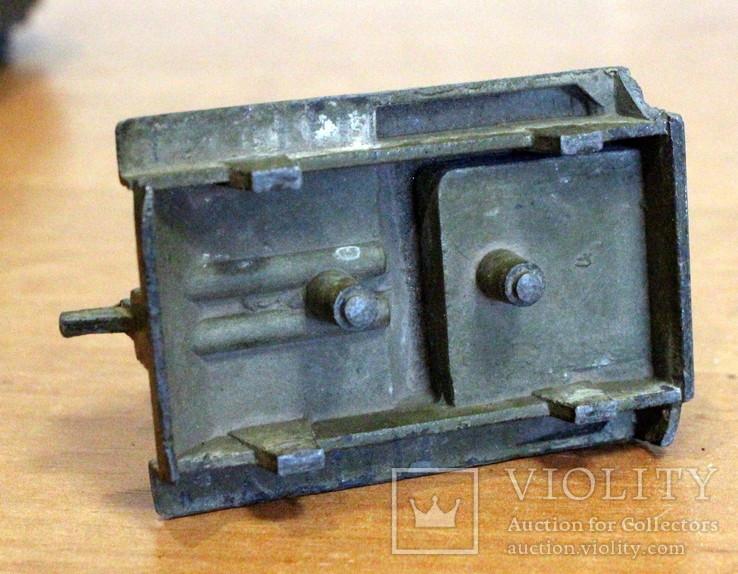Лот детской военной техники из металла на реставрацию. есть пушка., фото №8