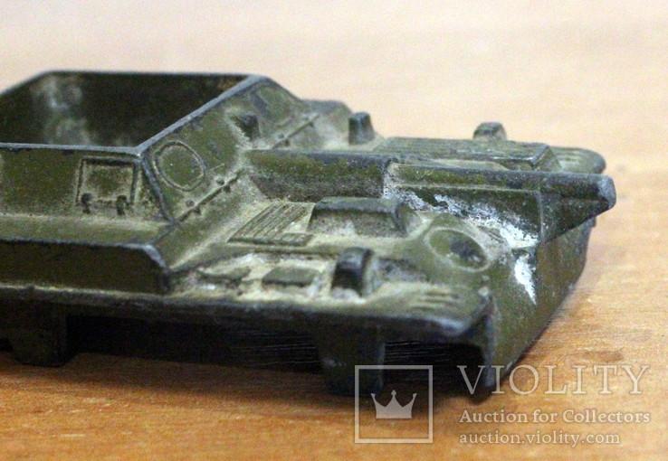 Лот детской военной техники из металла на реставрацию. есть пушка., фото №9