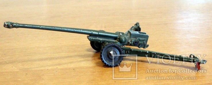 Лот детской военной техники из металла на реставрацию. есть пушка., фото №10