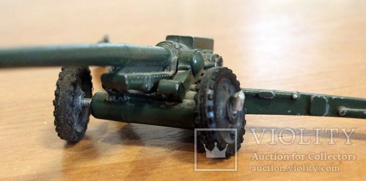 Лот детской военной техники из металла на реставрацию. есть пушка., фото №11