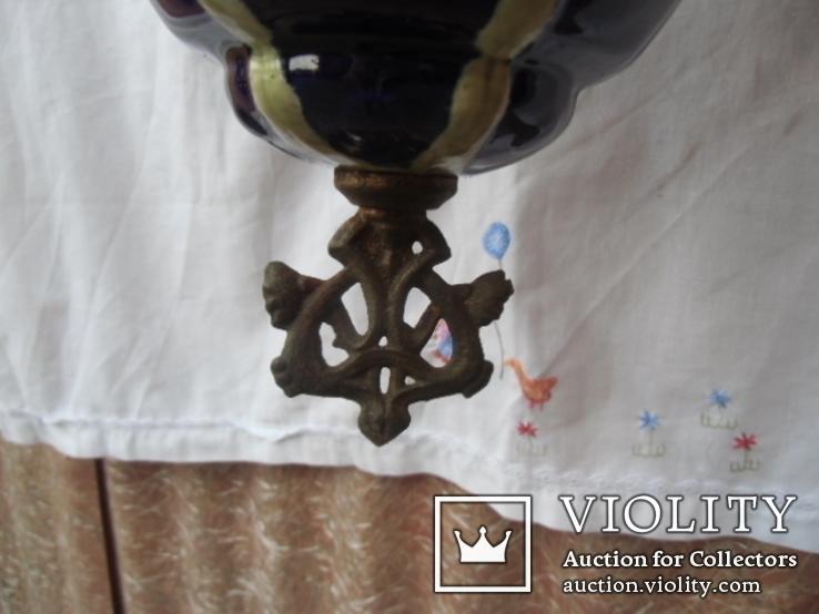 Керосиновая люстра Австро -Венгрия.  №2, фото №8