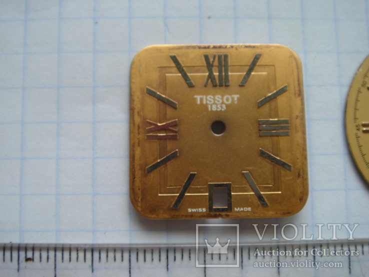 Циферблат к часам Tissot. 2 шт, фото №3
