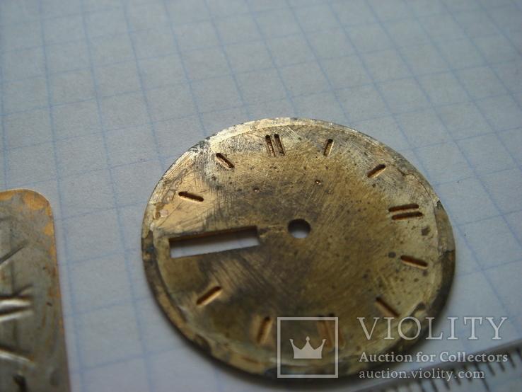 Циферблат к часам Tissot. 2 шт, фото №6