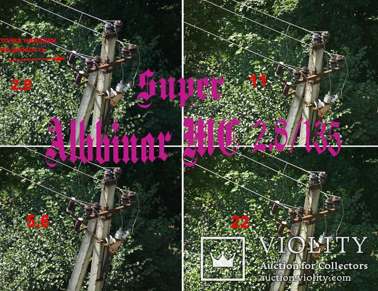 Super Albinar МС 2,8/135,М 42,Япония, фото №7