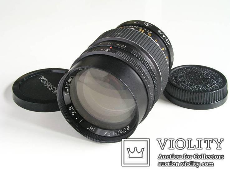 Beroflex 2,8/135 c кольцом КП/А-Н для Nikon,Япония, фото №5