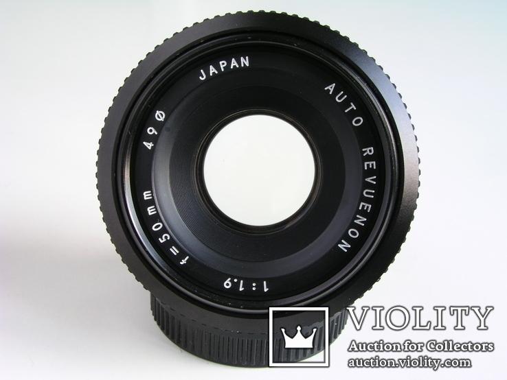 Revuenon 1,9/50,Япония,для крепления Pentax (PK), фото №5