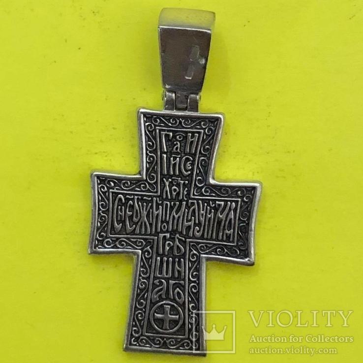 Хрест Срібло 925 проба. 7,63 грама., фото №3