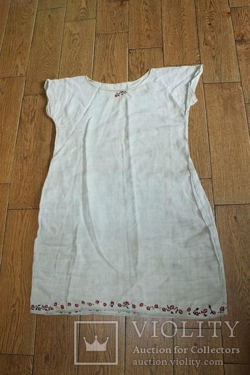 Рубашка на домоткани №1, фото №2