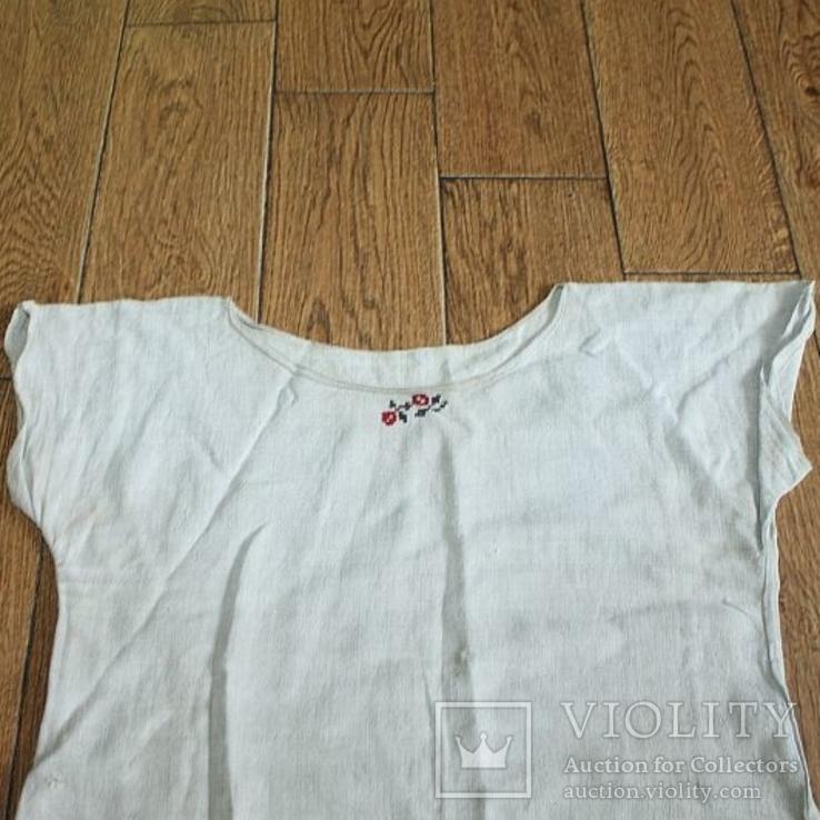 Рубашка на домоткани №1, фото №3