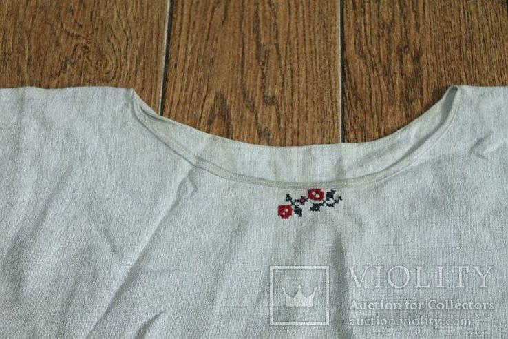 Рубашка на домоткани №1, фото №4