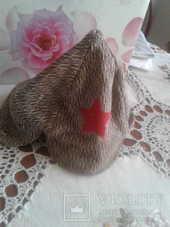 Дитяча  шапка  з  зіркою, фото №2