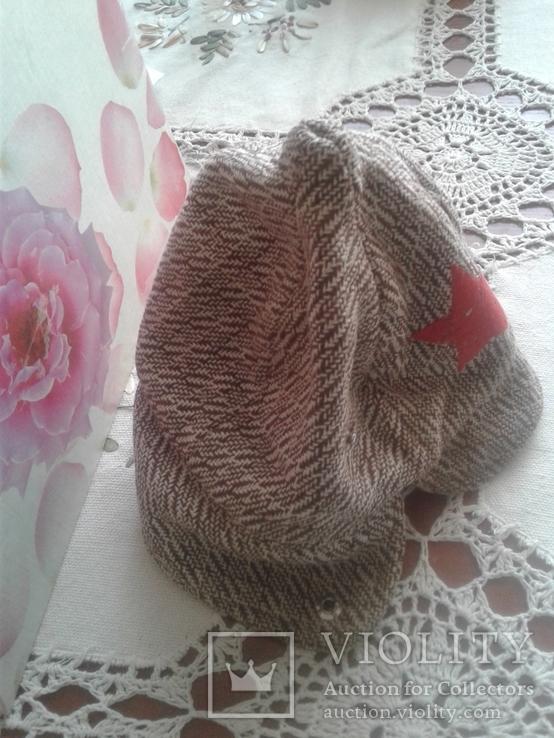 Дитяча  шапка  з  зіркою, фото №4