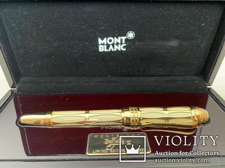 Перьевая ручка  MONT BLANC, фото №2