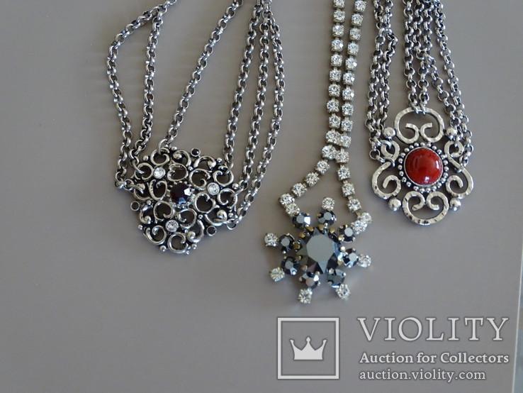 Колье-ожерелье. 3 шт., фото №8