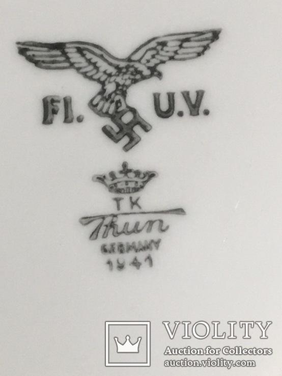 Блюдце люфтваффе глибоке 1941, фото №5