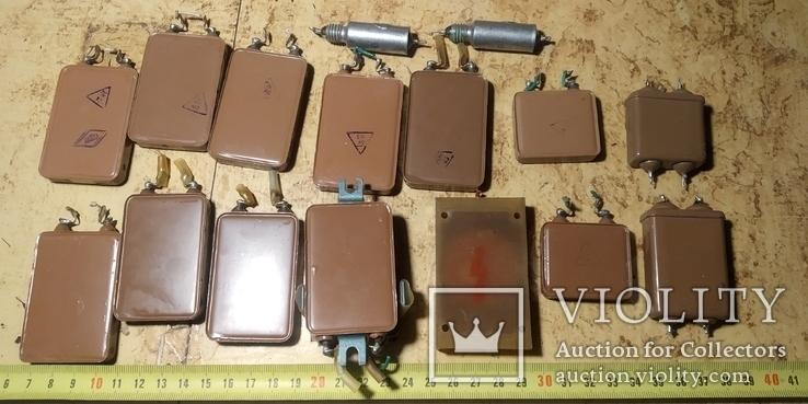 Серебряно-слюдяные конденсаторы ССГ-2, фото №7