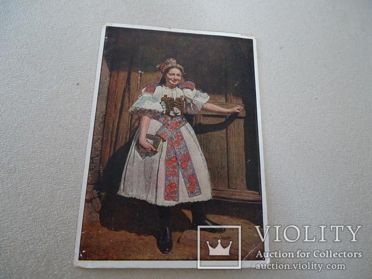 """Народные костюмы Hans Retzlaff Zipser """"Немецкая невеста с Мальтгерна""""., фото №2"""