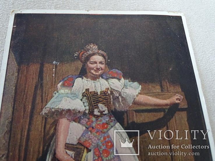 """Народные костюмы Hans Retzlaff Zipser """"Немецкая невеста с Мальтгерна""""., фото №3"""
