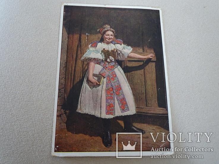 """Народные костюмы Hans Retzlaff Zipser """"Немецкая невеста с Мальтгерна""""., фото №4"""