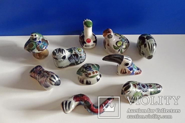 Коллекционные Tonala, фигурки Mexico. 10 шт., фото №2
