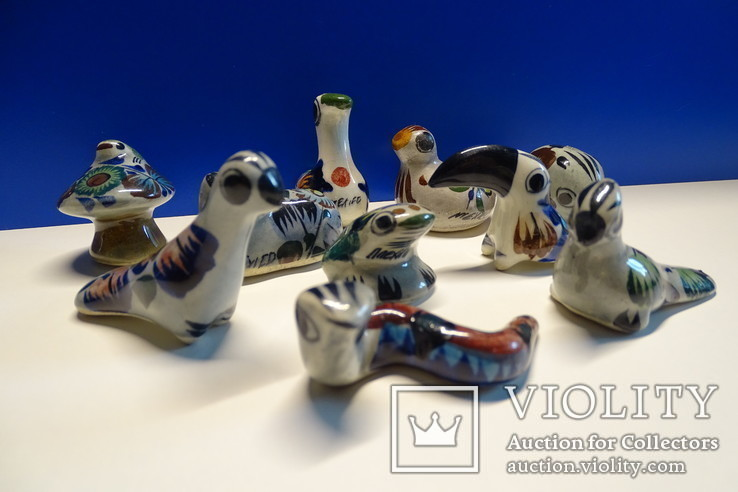 Коллекционные Tonala, фигурки Mexico. 10 шт., фото №3