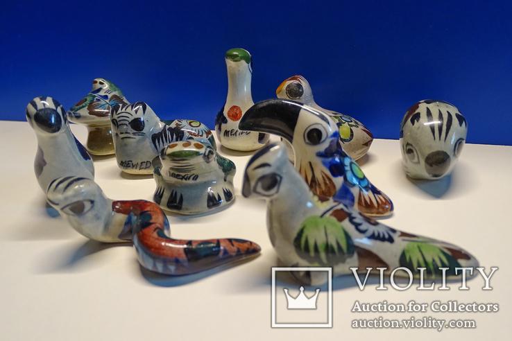 Коллекционные Tonala, фигурки Mexico. 10 шт., фото №4