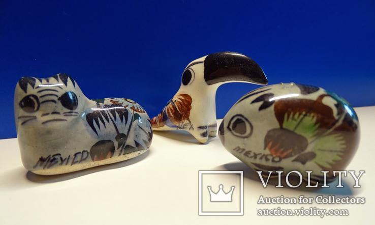 Коллекционные Tonala, фигурки Mexico. 10 шт., фото №9