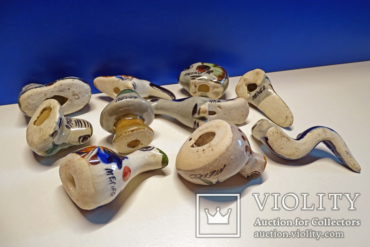 Коллекционные Tonala, фигурки Mexico. 10 шт., фото №10