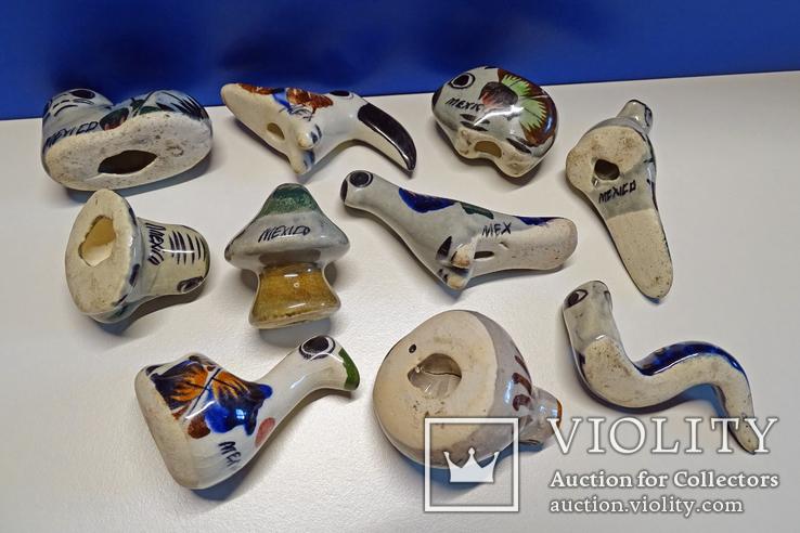 Коллекционные Tonala, фигурки Mexico. 10 шт., фото №11
