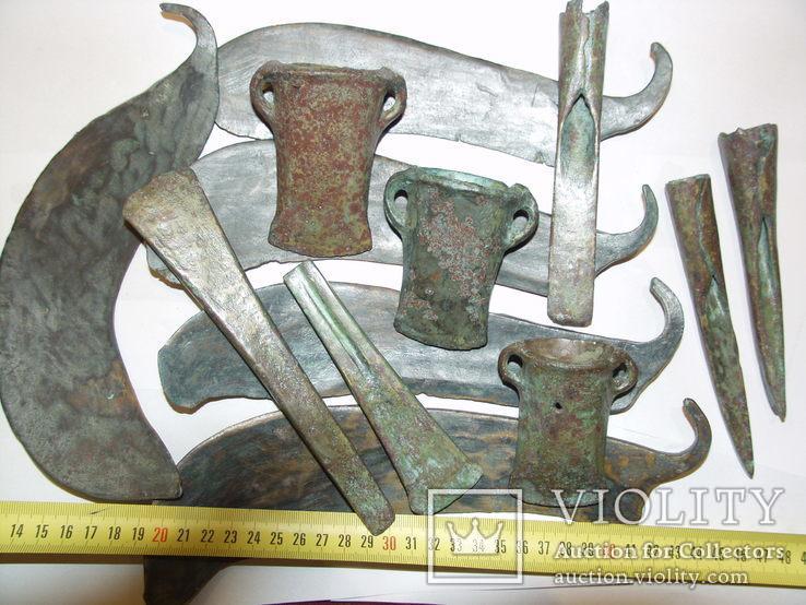 Предметы бронзового века 5