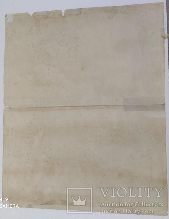 Карта 1690гг (Russia Moscovia), фото №9