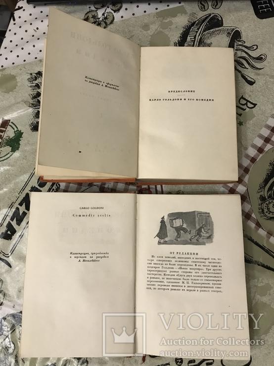 Комедии 1933 Карло Гольдони Два тома Академия, фото №7