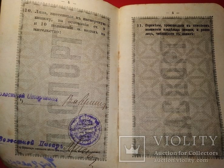 Царский паспорт, фото №4