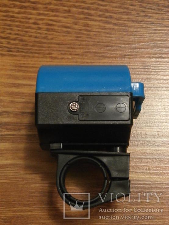 Электронный звонок для велосипеда,вело звонок,гудок Компактный, фото №4