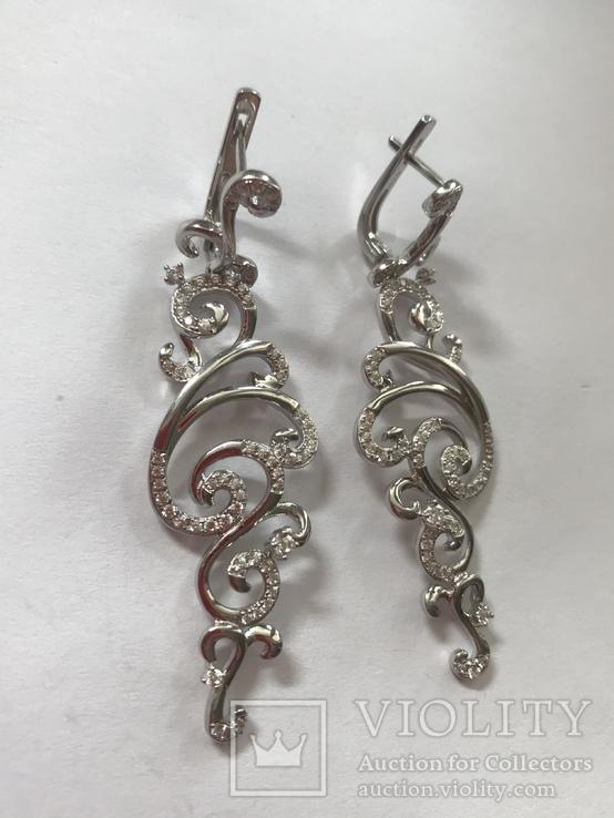 Набор серебряных украшений, фото №8