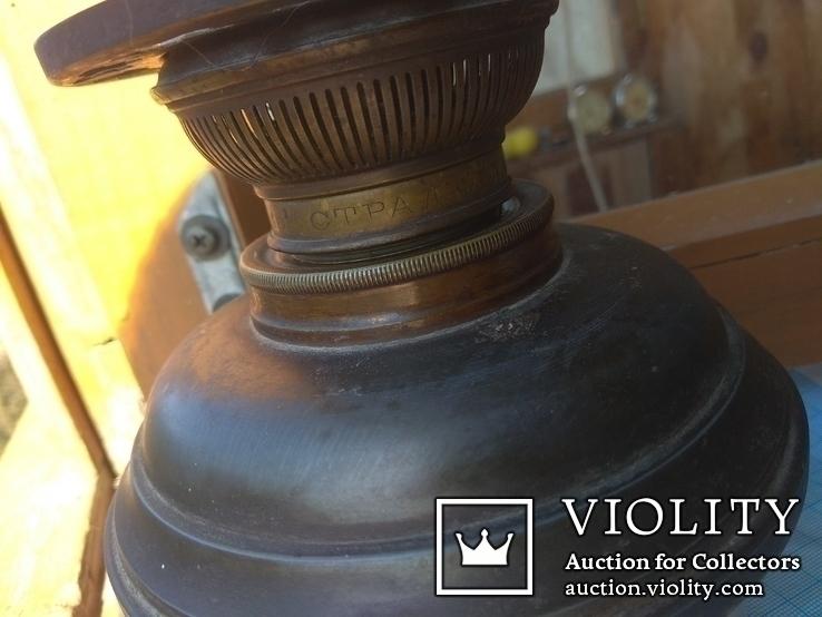 Керосиновая лампа Hugo Schneider, фото №9