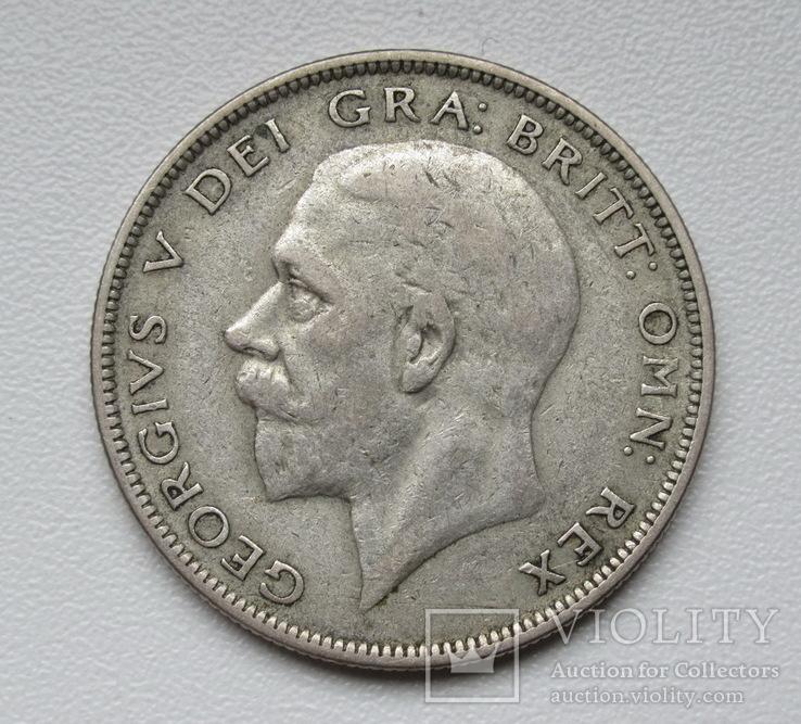 1/2 кроны 1936 г. Великобритания, серебро, фото №5